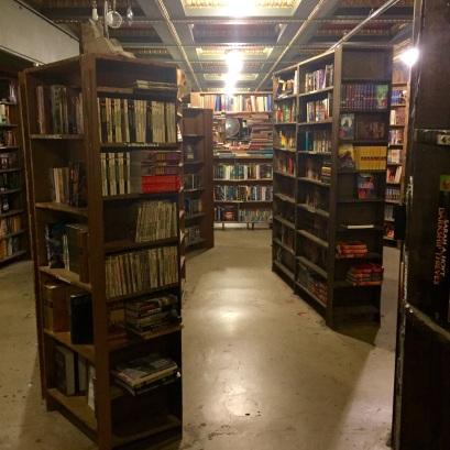 Random book aisles