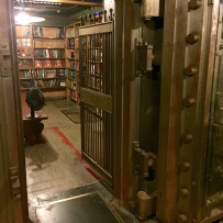 Vaulted book room