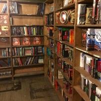 Inside vaulted book room