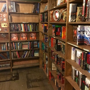 Inside vaulted book room