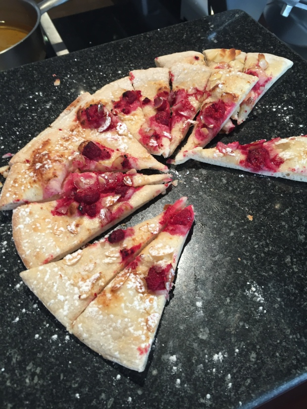 Jam pizza