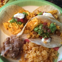 What to do with leftover taco meat? RECIPE: Breakfast Tacos Al Pastor