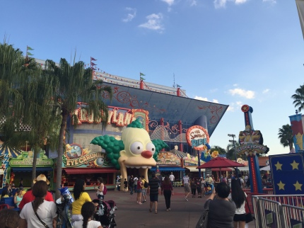 Krustyland The Simpsons' Ride