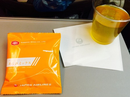 Japan Airlines Veggie Chips