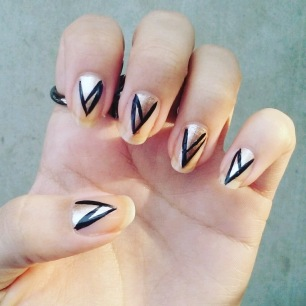Art Deco Nails Complete