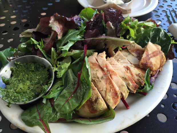 Urth Caffe Chicken Pesto Salad Small