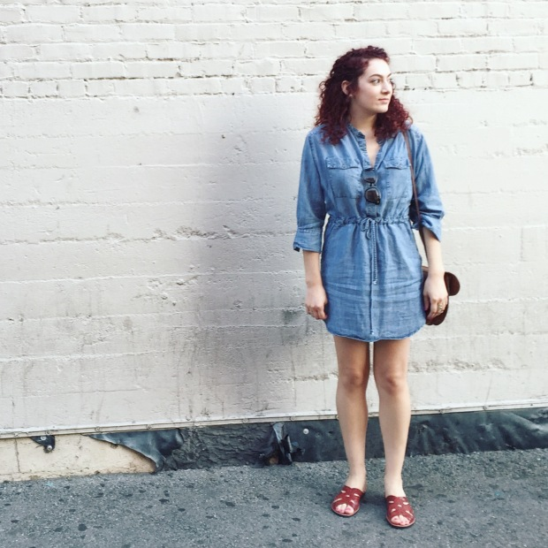 Blue Jean Dress Outfit