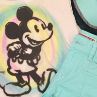 OOTD | Pastel Mickey Mouse Inspired Outfit